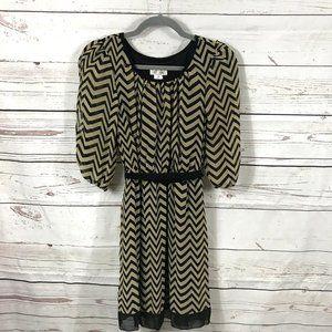*3/$18*Sweet Storm Puffed Sleeve Dress
